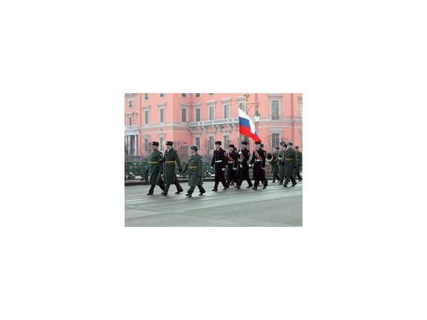 В Петербурге - 23 февраля