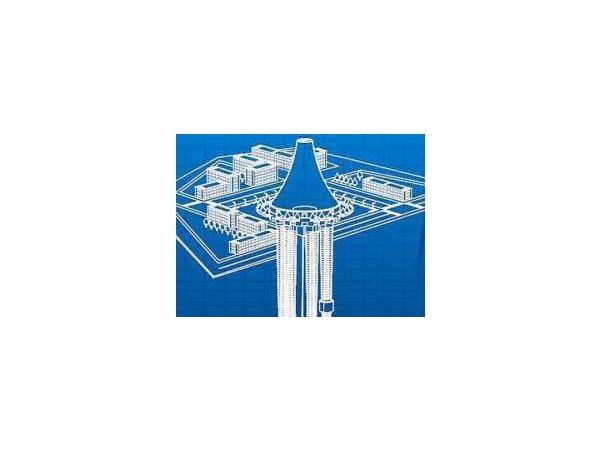 На Охте предлагают построить еще и подземный небоскреб