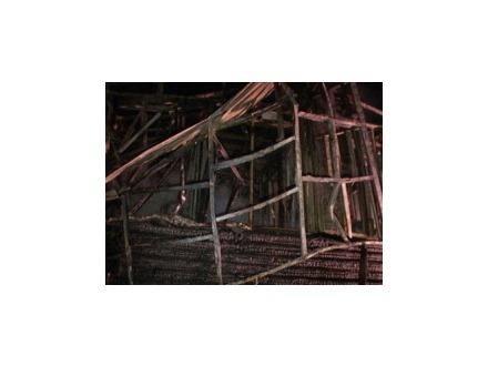 В Коломягах сгорел дом продюсера Александра Борисоглебского