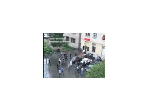 Видео драки на улице Подвойского