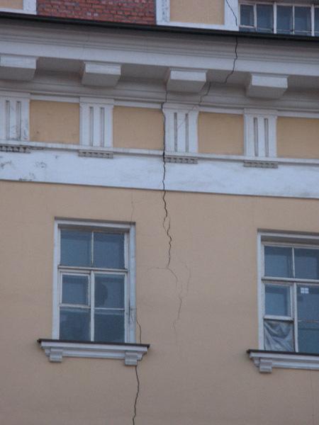 Трещина 2009г. Фото ВООПИК