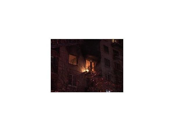 Пожар на Будапештской отправил в больницу четырех человек