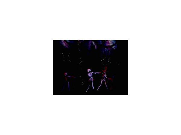 Горожане испугались «скелетов» на детской «елке»