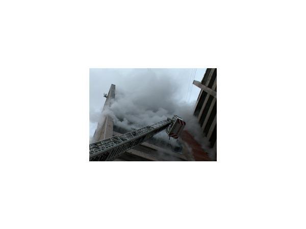 В общежитии «Лесопилки» выгорели две комнаты