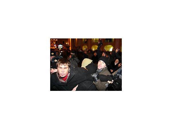 В центре Петербурга задерживают участников несанкционированной акции протеста