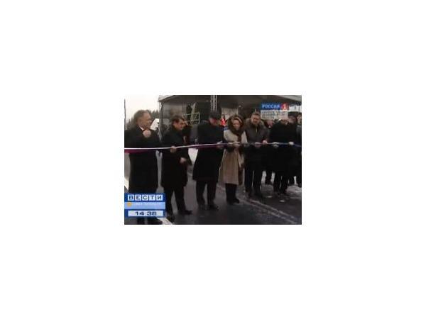 """Кадр из съемки телеканала """"Вести-Петербург"""""""