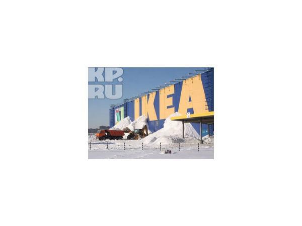 """В IKEA подтвердили обрушение крыши в ТЦ """"МЕГА Дыбенко"""""""