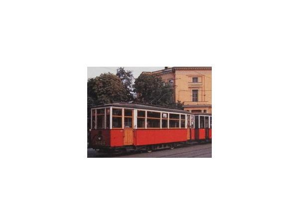 По Петербургу проехал блокадный трамвай