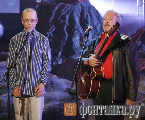 Толя Зверев и Андрей Макаревич