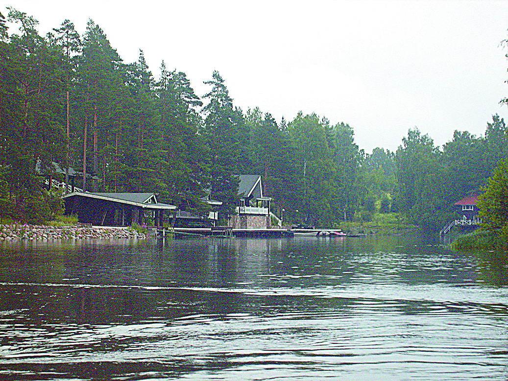 Дачный комплекс лесопромышленника Дамира Шадаева