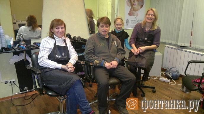 Игорь Сорокин и его помощницы