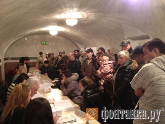 Так организовано голосование на участке №86 - на Большом проспекте В.о., 65