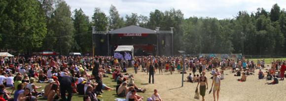 На фестивале Ilosaarirock