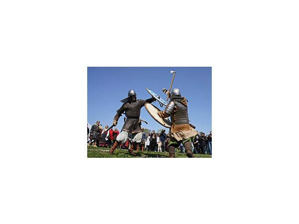 Петропавловскую крепость заселили викинги
