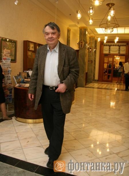 Президент Петербургского кинофорума Алексей Герман