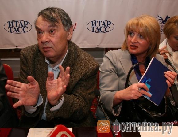 Алексей Герман и вице-губернатор Петербурга Алла Манилова