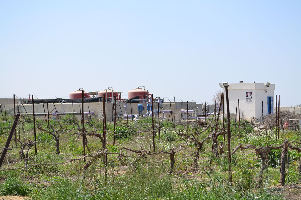 станция очистки стоков в Леавиме