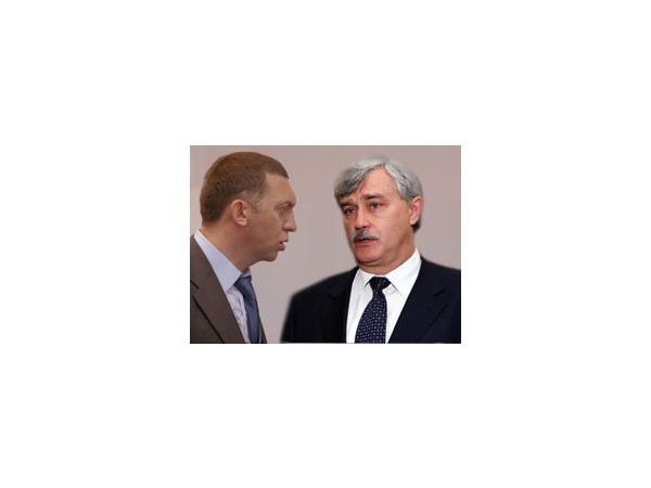 Дерипаска и Полтавченко поговорили о стадионе и Апрашке