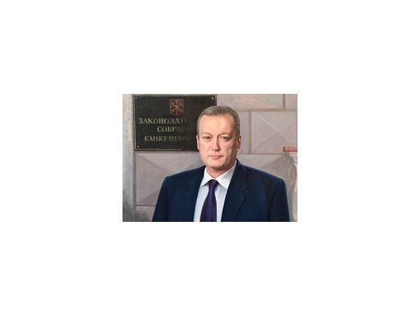Портрет сенатора Вадима Тюльпанова украсил Мариинский дворец
