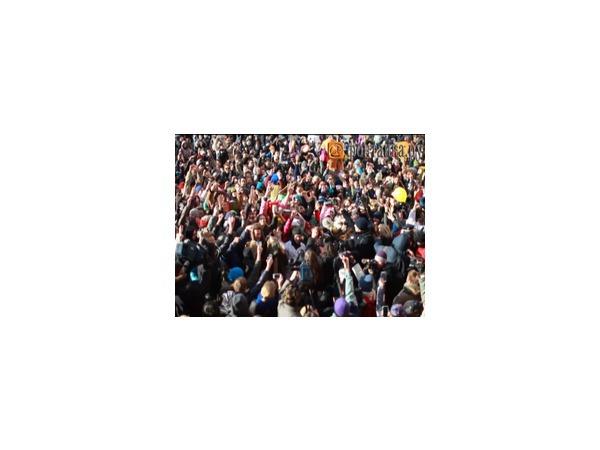 Полиции не понравился Harlem Shake в Петербурге