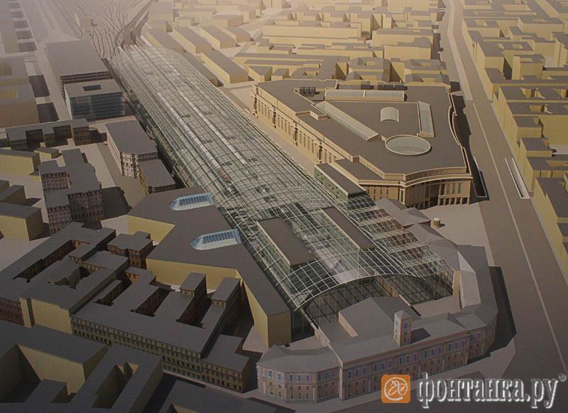 Реконструкция Московского вокзала
