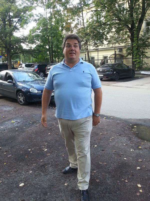 один из частных инвесторов проекта Давид Мюллер-Мееркатц
