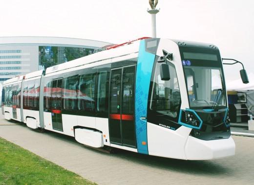 """Трамвай Stadler """"Белкоммунмаша"""""""