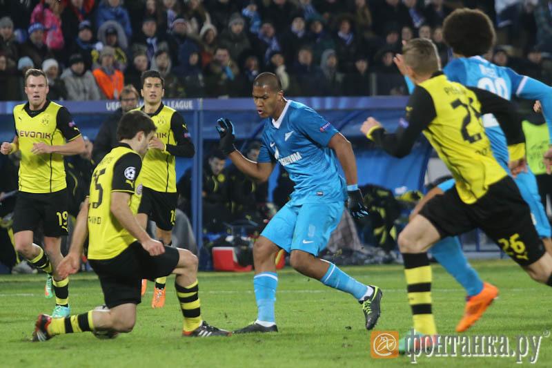 Боруссия дортмунд зенит смотреть онлайн 19 марта