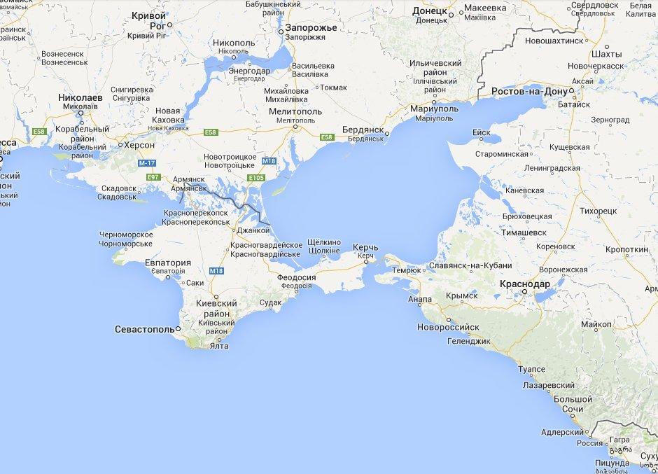 Скриншот с сайта https://maps.google.com