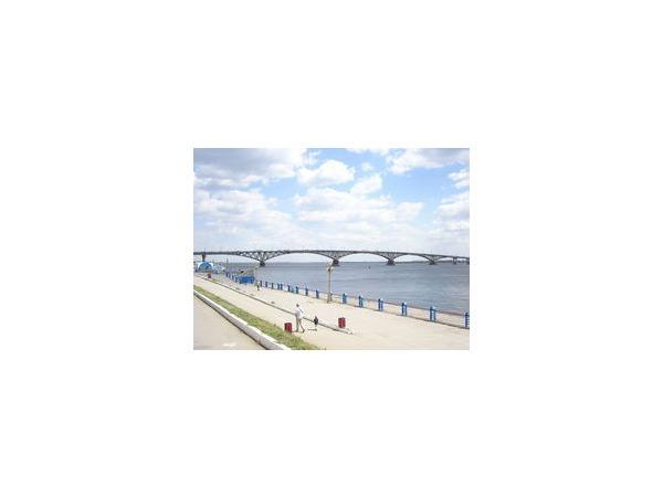 Ночью 15 апреля мост «Саратов-Энгельс» закрыли на ремонт