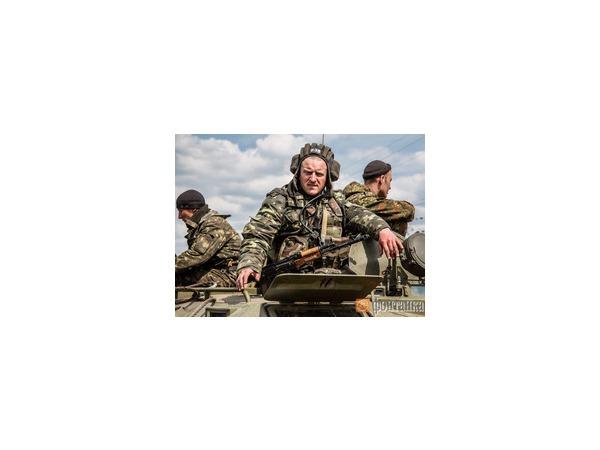 Войсковая антитеррористическая операция на востоке Украины. День второй. Фоторепортаж