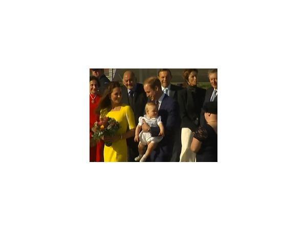 Кейт Миддлтон и принц Уильям посетили столицу Австралии