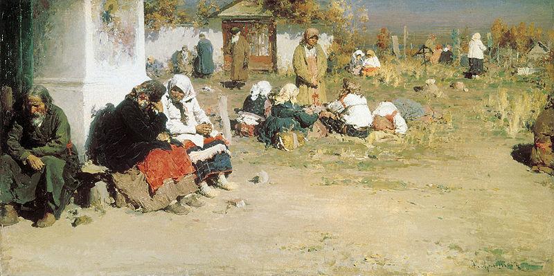 А.Е.Архипов. Радоница. Источник: Wikipedia