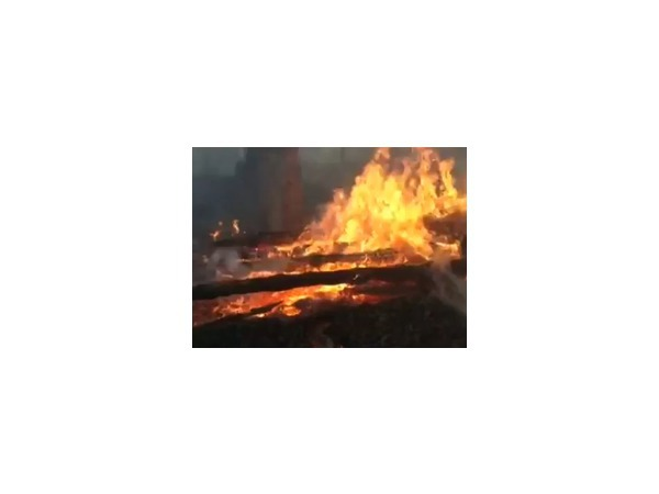 В результате пожара в Черемхово Иркутской области 64 человека остались без жилья