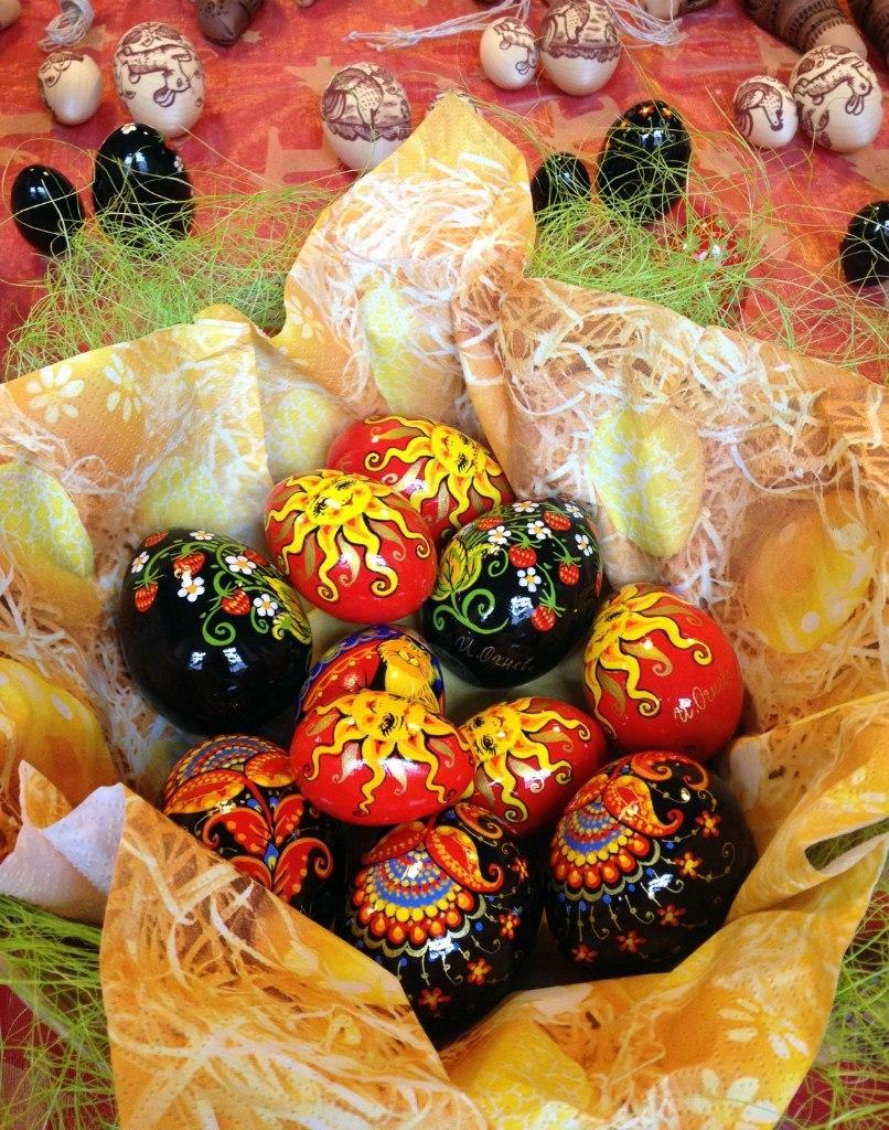 Пасхальные яйца от Ирины и Дарьи Огневых