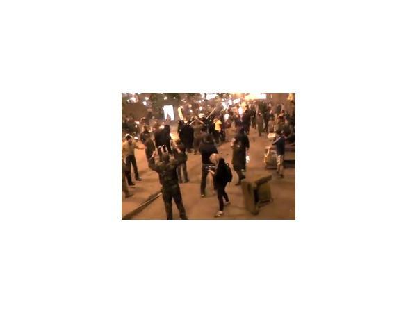 В Киеве произошла драка между националистами и «майдановцами»