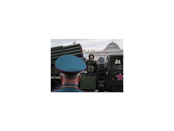 В Москве состоялась первая ночная репетиция парада Победы