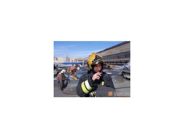 Пожарные отмечают юбилей