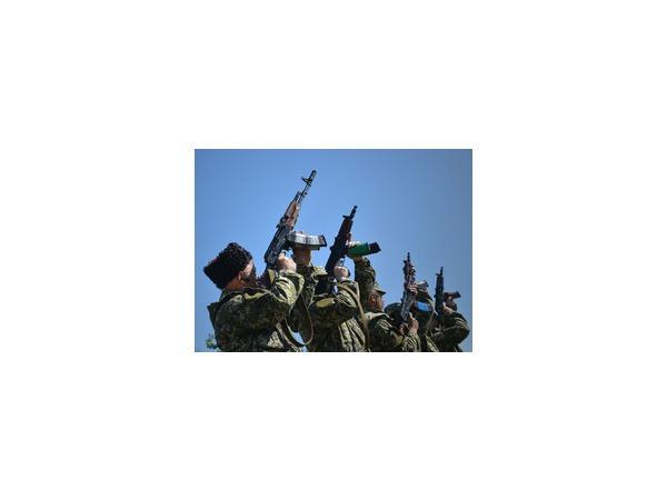Украинская армия продолжает наступление на Славянск