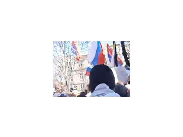 На юго-востоке Украины начались массовые выступления против действующей власти