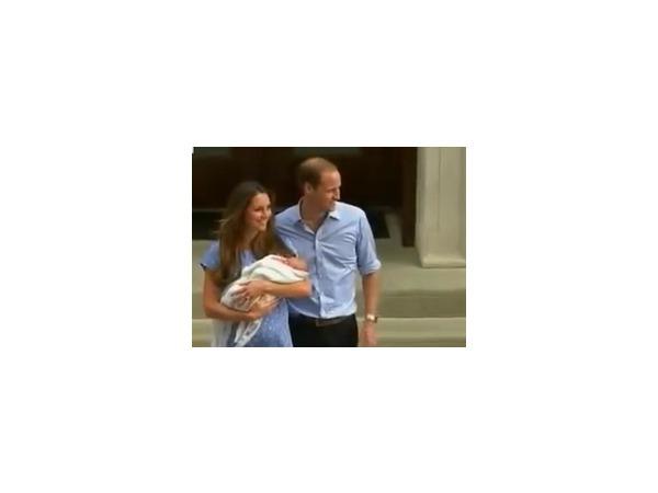 Кейт Миддлтон и принц Уильям вышли в свет вместе с сыном