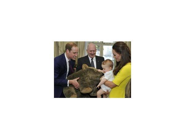 Принцу Джорджу исполнился год