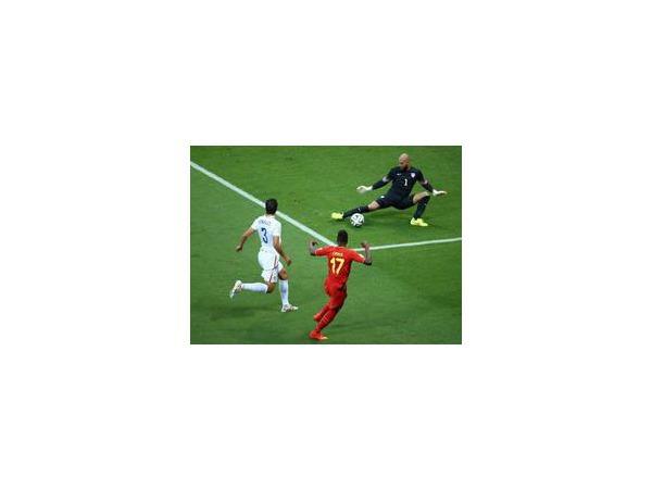 Бельгия обыграла США и прошла в четвертьфинал ЧМ-2014, где встретится с Аргентиной