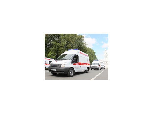 Автопарк петербургской скорой помощи вырос на 58 автомобилей
