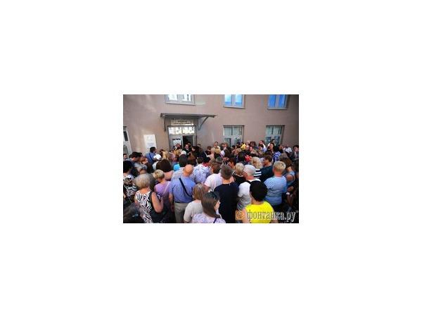 «Нева» разволновала петербуржцев у «Восхождения»