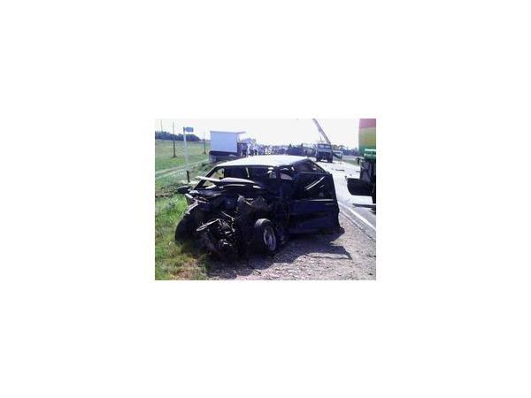 В Краснодарском крае произошла крупная авария с участием 7 автомобилей