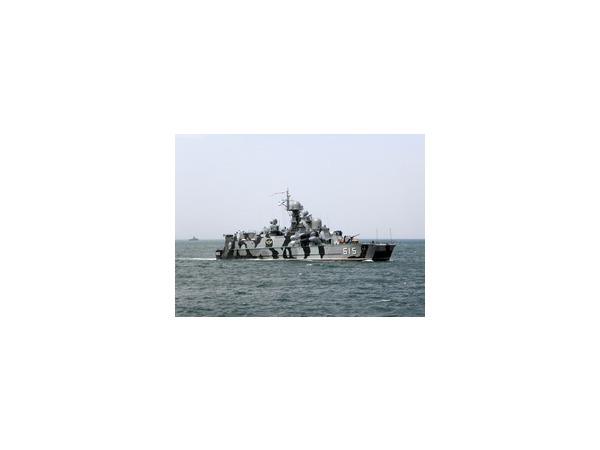 В акватории Черного моря проходят военные учения ЧФ России