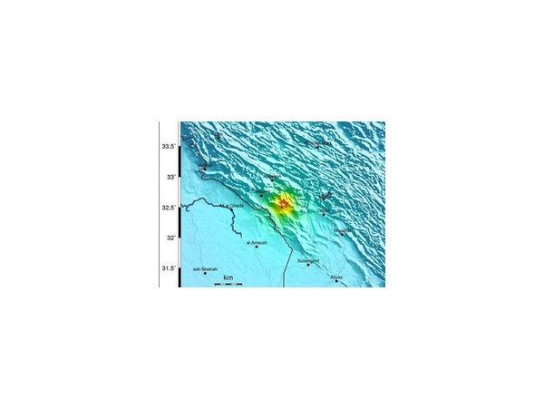 18 августа в Иране произошло два мощных землетрясения