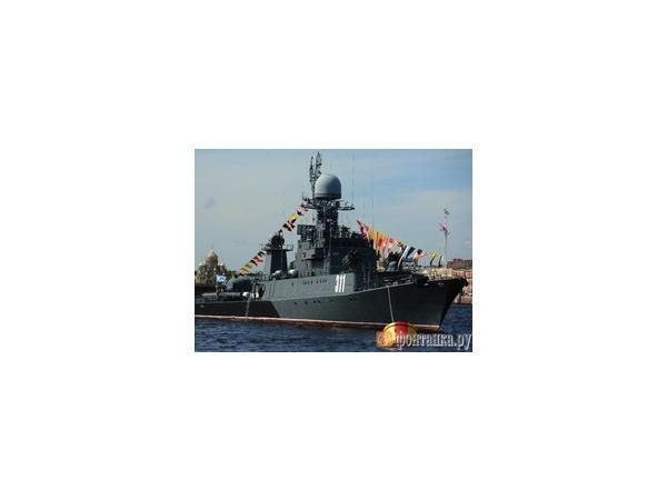 Корабли ЗВО готовятся к 150-летию округа