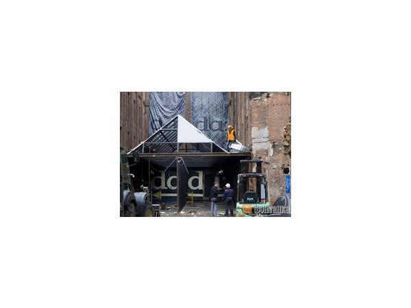 На Гороховой сносят летнюю террасу клуба Dada